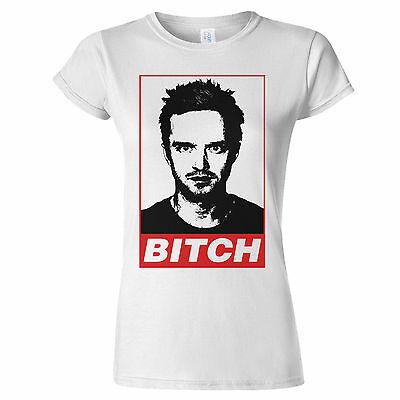 Breaking Bad Jesse Pinkman Bitch Womens T Shirt Walter White Meth Lab Heisenberg