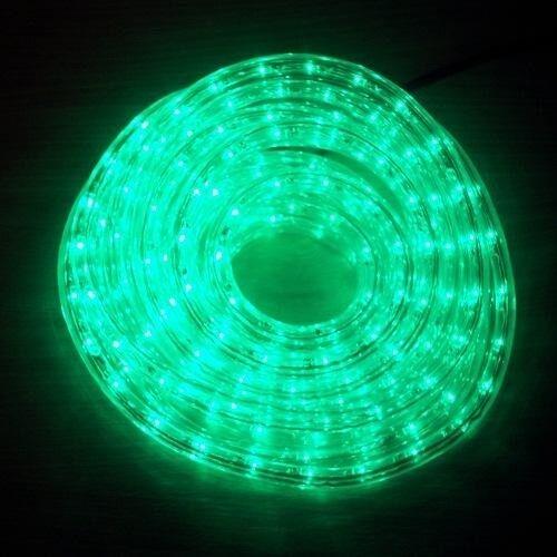 LED Lichtschlauch Lichterschlauch Superflex 6m grün 13mm 556-03 außen xmas | Üppiges Design