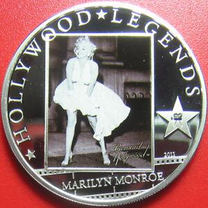 2011-COOK-ISLANDS-5-SILVER-PROOF-034-MARILYN-MONROE-034-HOLLYWOOD-MOVIE-STAR-COA-CARD