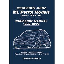 Mercedes ML 163 & 164 Workshop Manual MBLPWH