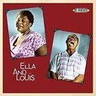Louis Armstrong / Ella Fitzgerald-ella and Louis-vinyl LP No Frills