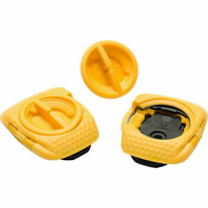 Speedplay 14115 Zero Aero Yellow Walking Cleats
