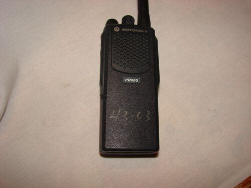 Motorola PR860 VHF LOW BAND HIGH SPLIT 35-50MHz  AAH45CEC9AA3AN