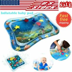 Inflatable-Baby-Water-Mat-Novelty-Play-for-Kids-Children-Infants-Tummy-Time-USA