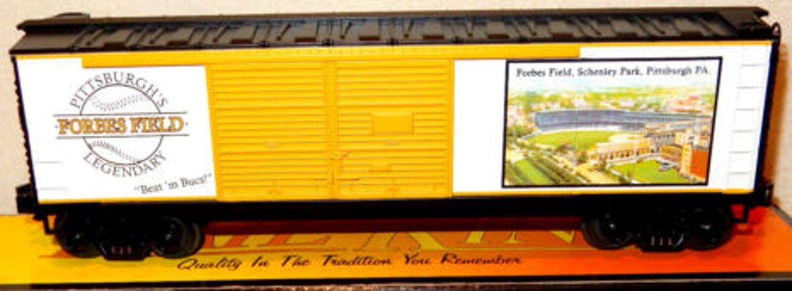 MTH Forbes Field O Gauge RailKing 40' Double Door Box Car