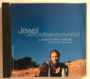Jewel-Who-Will-Save-Your-Soul-Mike-Halloran-of-91x-Interview-1995-PROMO-CD