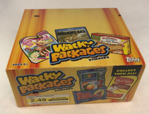 WACKY PACKAGES STICKERS Series 11 Topps 2013 SEALED WAX BOX RETAIL 16 packs