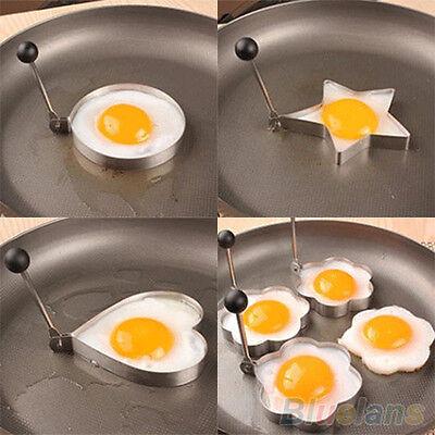 Stainless Steel Ideal Fried Egg Shaper Ring Pancake Mold Lovely Kitchen Tools