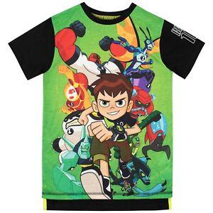 Details about Ben 10 T-Shirt I Kids Ben 10 Tee I Boys Ben 10 Top I Ben 10  Aliens T-Shirt