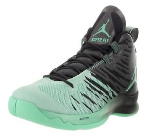 07e6b50f75a24 ... where can i buy image is loading nike jordan super fly 5 basketball  black green 3c5d6