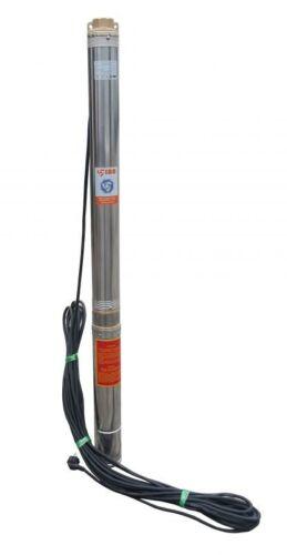 IBO SDM 1500W 1,5kW Brunnenpumpe Schneckenpumpe Sandbeständigkeit Edelstahl