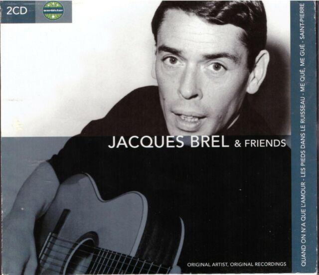 Jacques Brel & Friends- CD