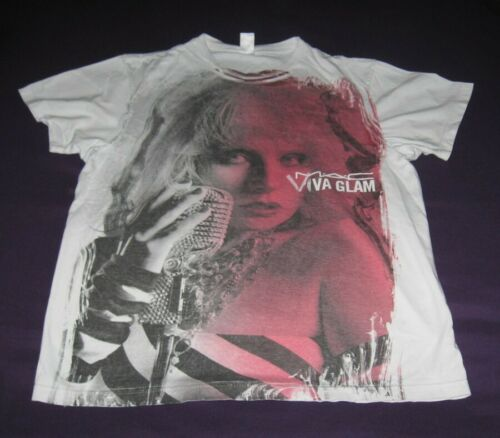 Debbie Harry BLONDIE pre-owned T SHIRT Viva Glam M
