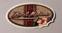 This Is A Vintage Hawaii Local Motion Surfing Sticker Decal