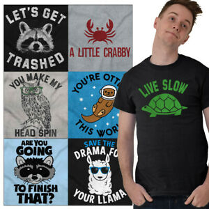 Wildlife-Tees-Shirt-Animals-Funny-T-Shirts-For-Mens-Womens-Pun-Novelty-Tshirts