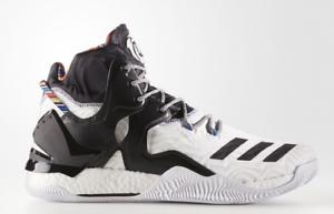 87982b643fcf DS Adidas D Rose 7 Arthur Ashe BHM BY3475 Shoes US Size 15