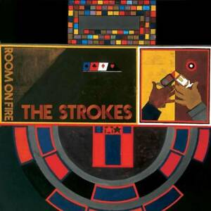 The-Strokes-ROOM-ON-FIRE-180g-MP3s-LIMITED-New-Orange-Flame-Colored-Vinyl-LP