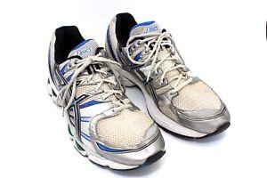shop for original 2019 hot sale 2019 original Details about Asics Gel-Nimbus 12 IGS Mens Gray Blue Running Athletic  Walking Shoes Size 14