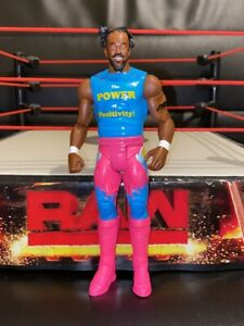 Raro-WWE-Mattel-Tough-Talkers-Kofi-Kingston-Figura-de-accion-de-juguete-de-lucha-de-voz