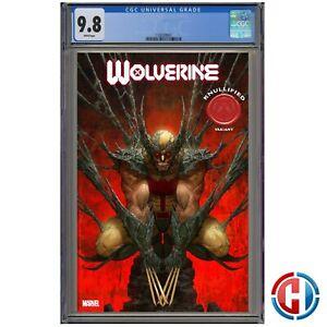 WOLVERINE #8 CGC Graded 9.8 Guaranteed PRESALE 12//30//20 RAPOZA KNULLIFIED VAR