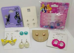 Details About Cute Mixed Lot Of S Pierced Earrings Tween