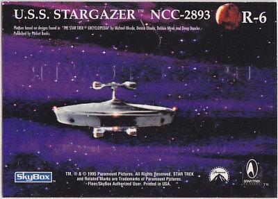 STAR TREK 30 YEARS PHASE 1 GOLD REGISTRY PLAQUE R6 USS