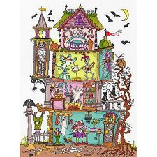 BOTHY THREADS CUT THRU HAUNTED HOUSE CROSS STITCH KIT , sealed XCT25