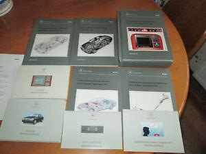 Mercedes-W-220-Einfuehrungsmappe-Betriebsanleitungen-Service-Buecher-1998