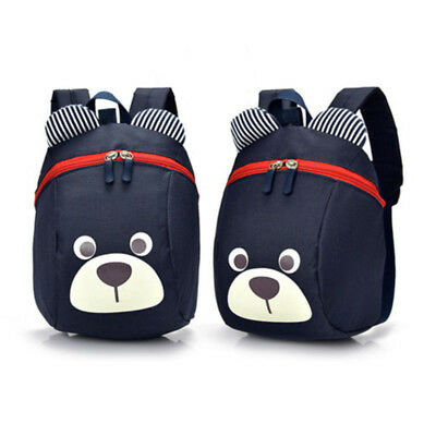 Boys Girls Backpack Cartoon Bear Shape Children Kids Rucksack Travel School Bags