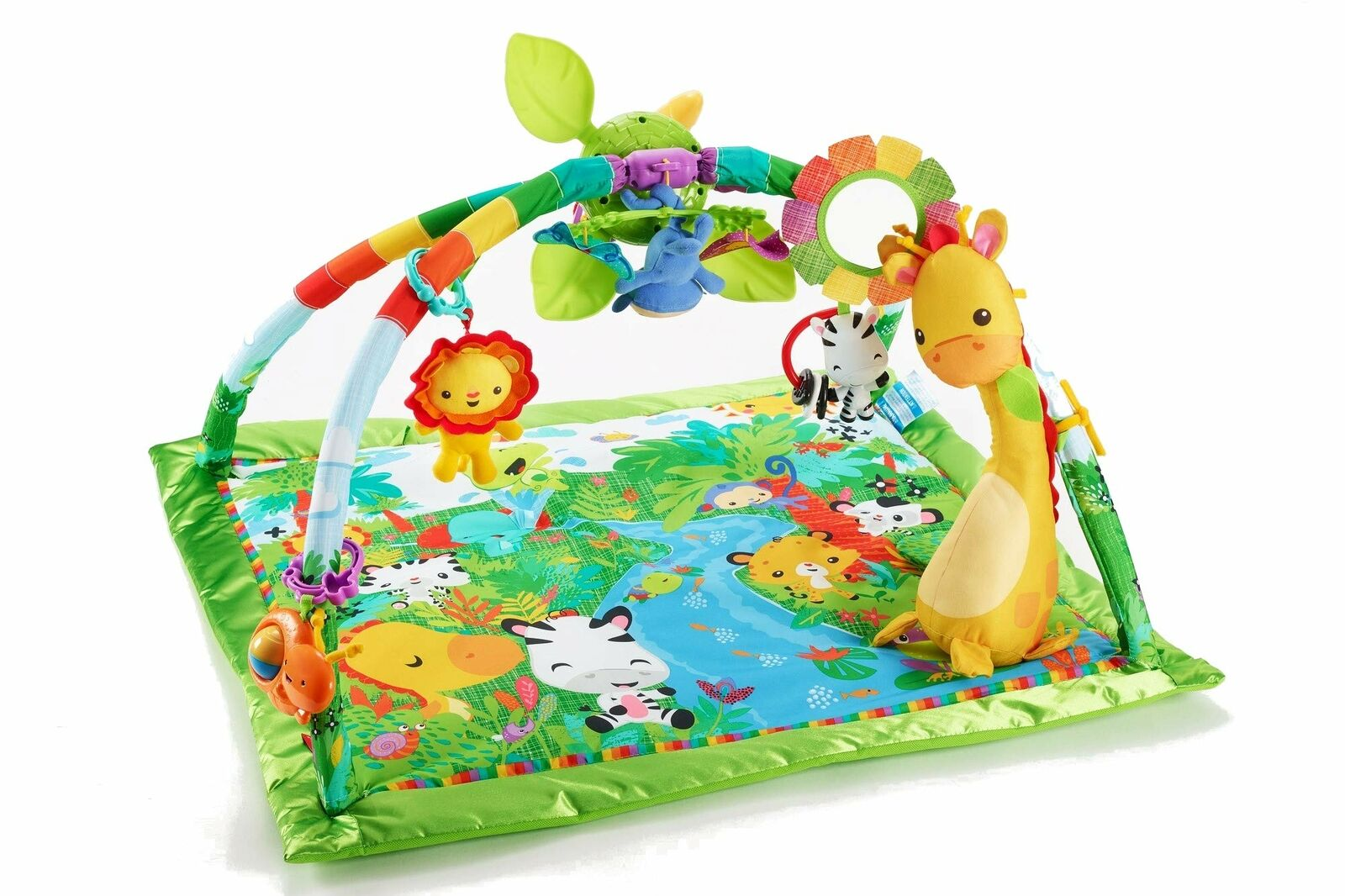 MATTEL Fisher Price Rain Forest Deluxe Gym II DFP 08