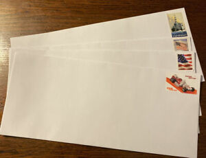 20 Pre Forever stamped(mixed Selection)#10 Envelopes With Privacy Tint/pull Seal