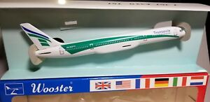 WOOSTER (W503) TRANSAVIA AIRLINES 757-200 1:200 SCALE PLASTIC SNAPFIT MODEL