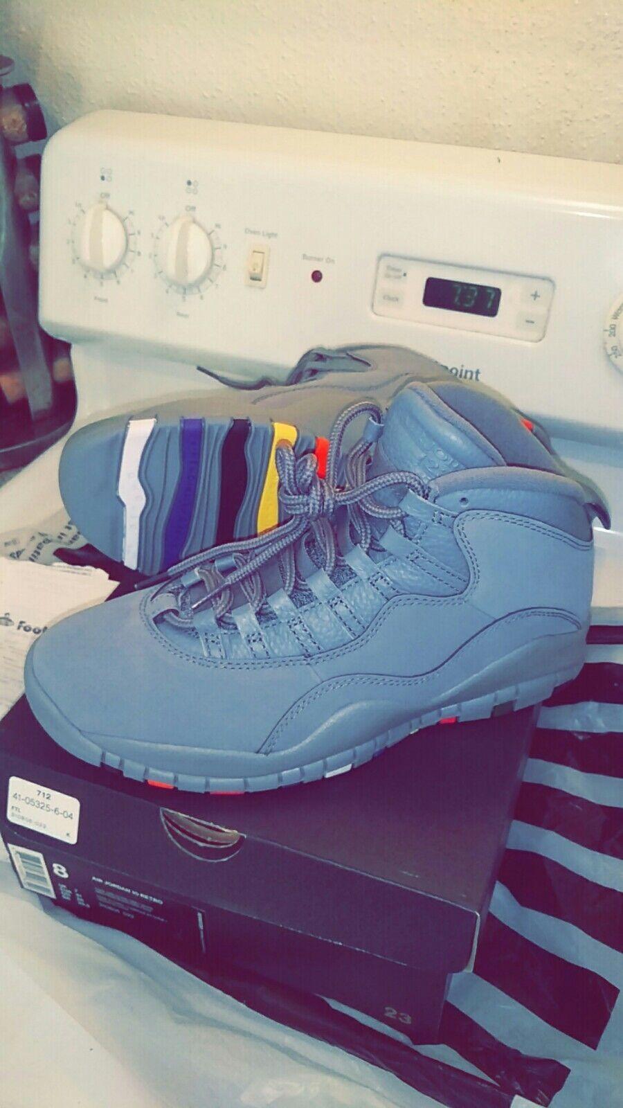 Nike air Jordan retro 10 cool grey size 8 brand new with receipt