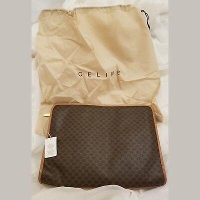 100% Authentic Celine Vintage Portfolio Briefcase Bag DF00883 NWT
