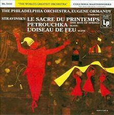 Stravinsky: Le Sacre du Printemps; Petrouchka; L'Oiseau de Feu (CD, Apr-2013,...