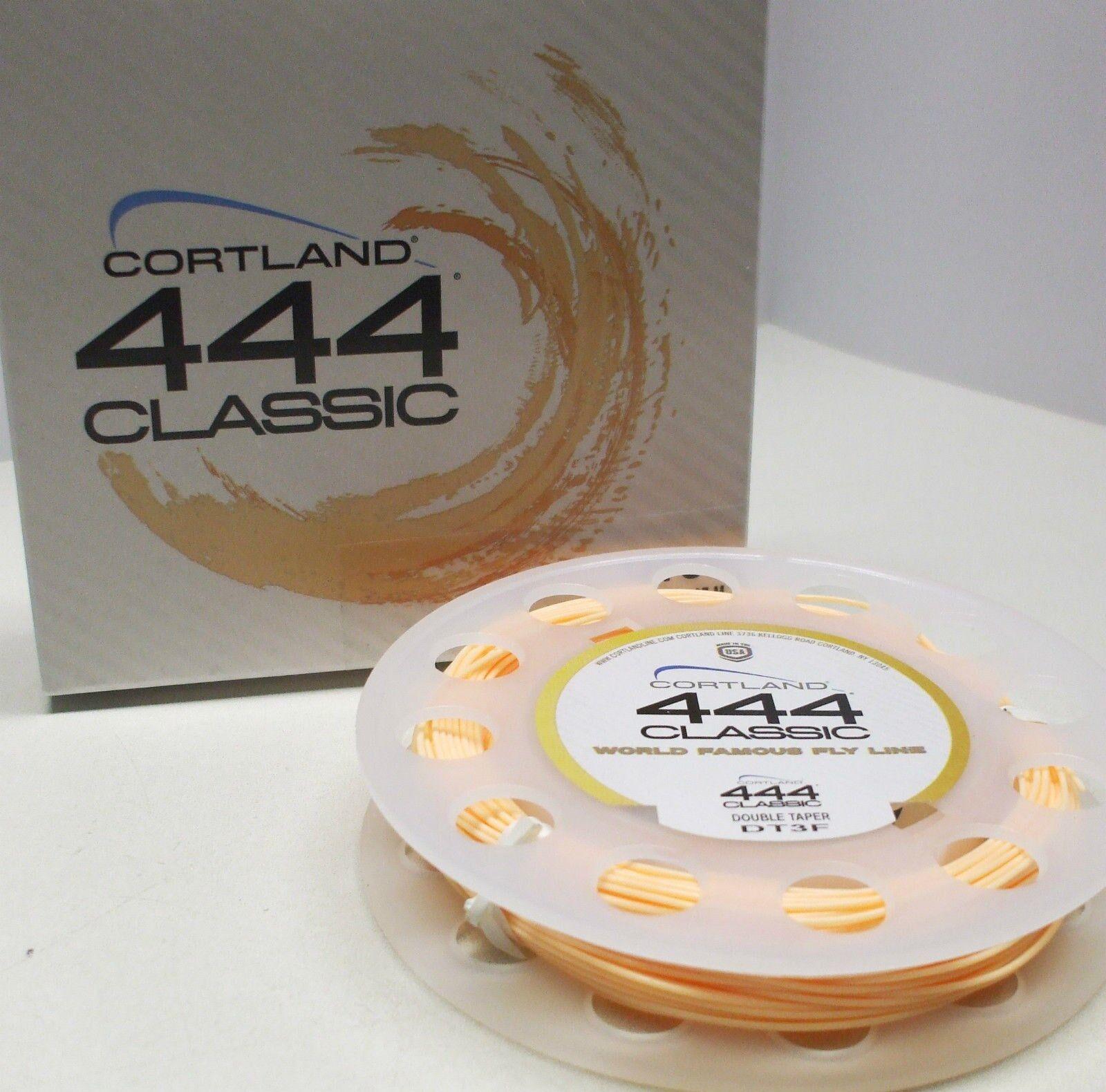 Cortland 444 Classic - Fly Line - Classic Peach WF7F - Brand New 87f6cb