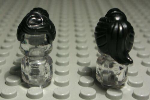 2602 EI Lego Figur Zubehör Haar Schwarz für Frau