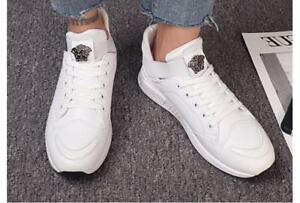 Tanggo-Jared-Mens-039-s-Korean-Fashion-Sneakers-Shoes-1982-Black-SIZE-40-crzysre