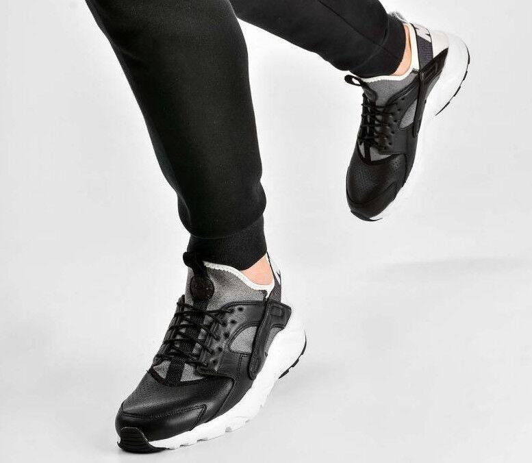 Aire Huarache Run Ultra Se Hombre Zapatillas Reino Unido Negro 10 45 Eur