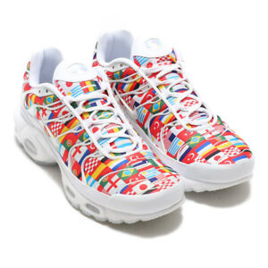 321afd5c1bc NIKE AIR MAX PLUS NIC QS TN International Flags Trainers Sneaker UK8 ...