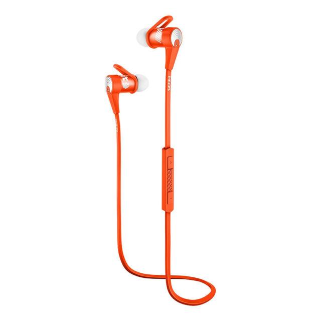 Philips SHQ7300OR ActionFit Bluetooth sports headphones SHQ7300 Orange