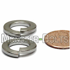 M10 / 10mm - Qty 10 - DIN 127B Split Lock Washer Stainless Steel 18-8 / A2-70