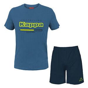 Completo Homewear Uomo KAPPA Corto Cotone 4 Modelli