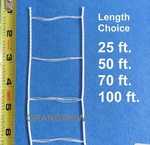 Details About White Ladder String Tape For 2 Inch Wood Vinyl Venetian Blind 25 50 70 100 Ft