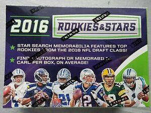 Panini-Rookies-amp-Stars-Football-Blaster-2016-NFL-Box-1-Auto-or-Memo