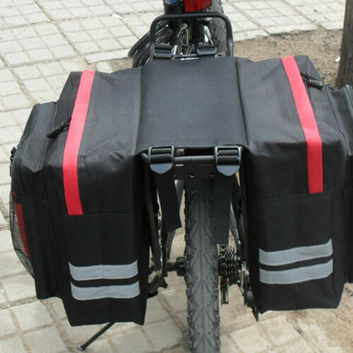 Bicycle Bike Cargo Pannier Rear Rack Seat Tail Trunk Saddle Bag Pouch Waterproof