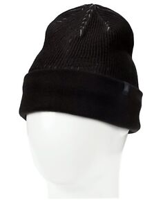 Adidas ID Climaheat Wool Hat Winter Beanie Sports Black Headwear ... e43e0b83070