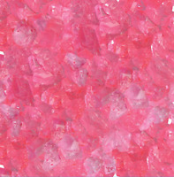 Loose Cherry Flavored Rock Candy Crystals (pea Size) Pick A Size - Free Shipping