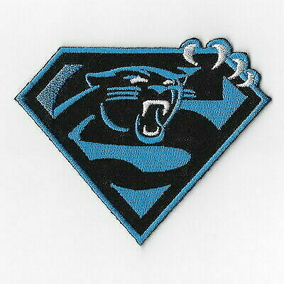 on sale c62bf 3cfcb Carolina Panthers T Iron on Patches Embroidered Badge Patch Applique Sew FN  for sale online | eBay
