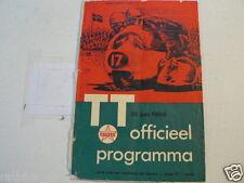 1966 DUTCH TT ASSEN PROGRAMME GRAND PRIX MOTO GP,RENNPROGRAMM,c